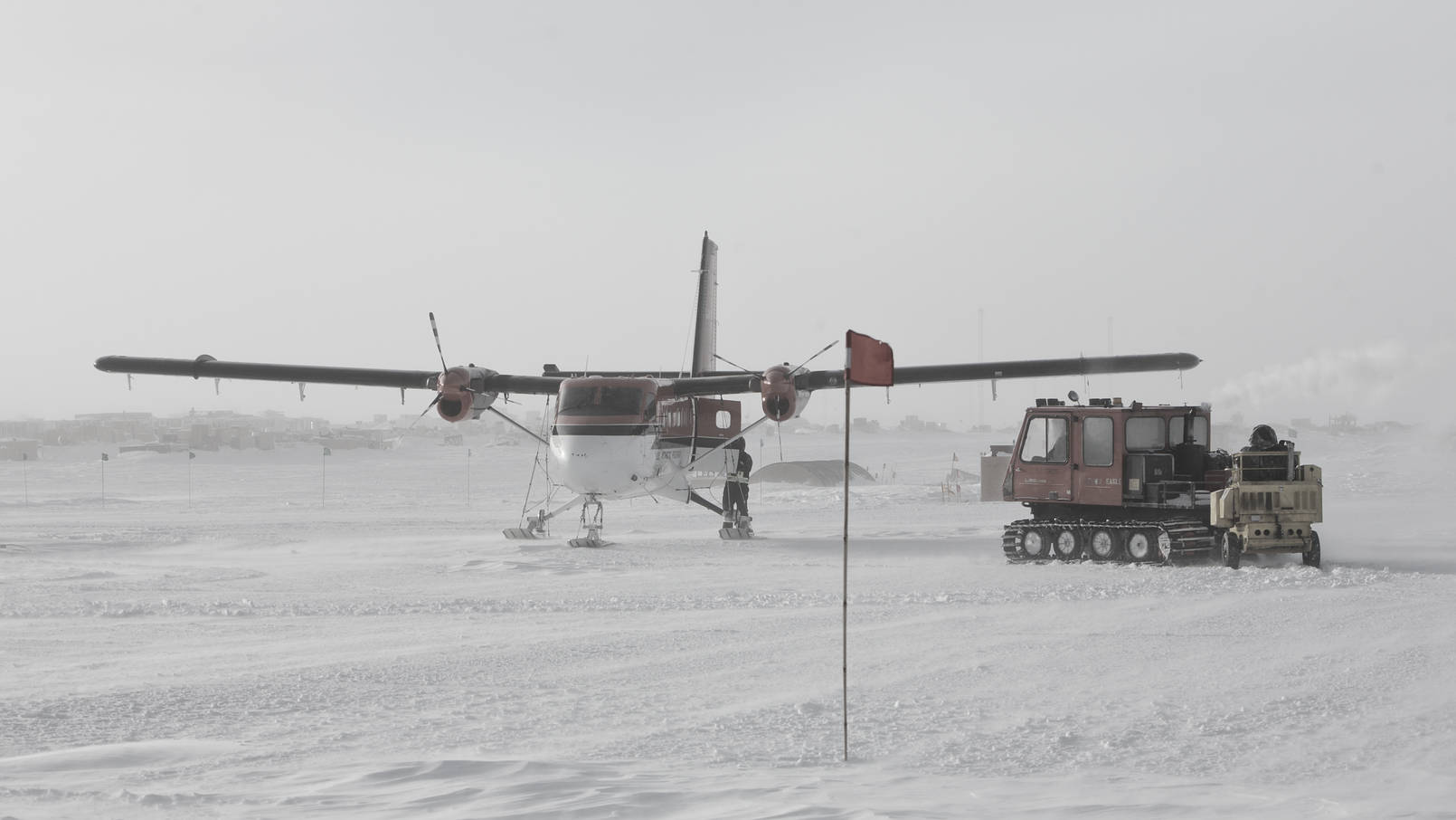 Arrival of the first Twin Otter